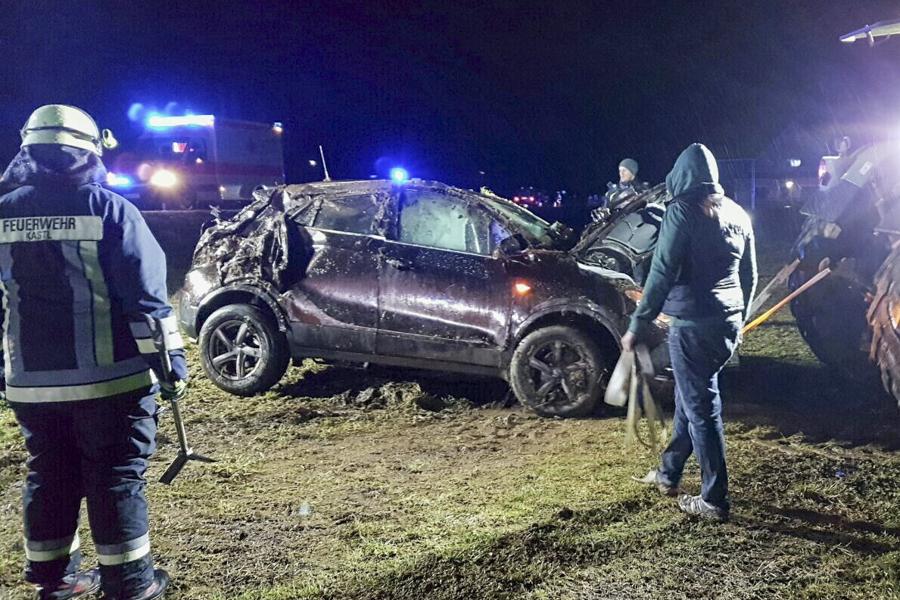 Verkehrsunfall bei Kastl/ Kemnath