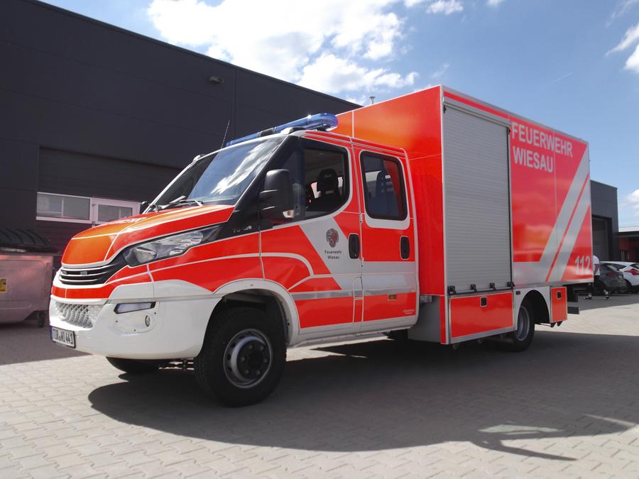 Neues TSF-Logistik für die Feuerwehr Wiesau