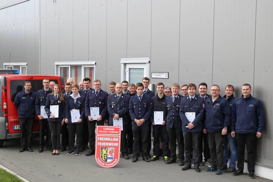 Atemschutzlehrgang der Feuerwehren des Landkreises Tirschenreuth