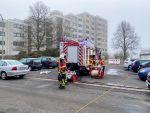 Brand in einem mehrgeschossigen Wohnhaus